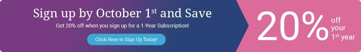 Save on Annual Koiné Media Subscription