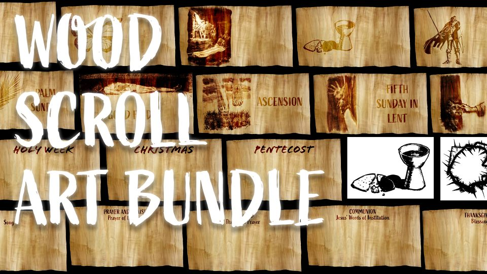 Wood Scroll Art Bundle