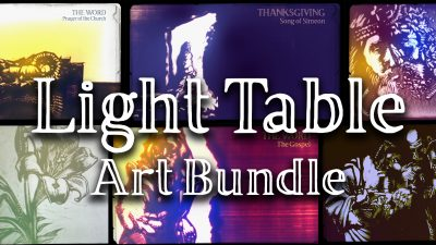 Light Table Art Bundle