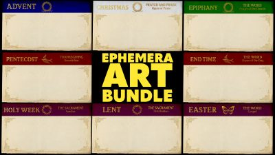Ephemera Art Bundle