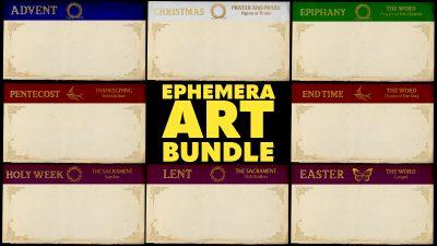 Ephemera Art Bundle