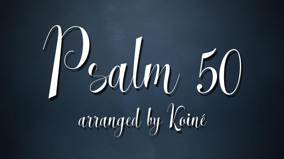 Psalm 50 Title
